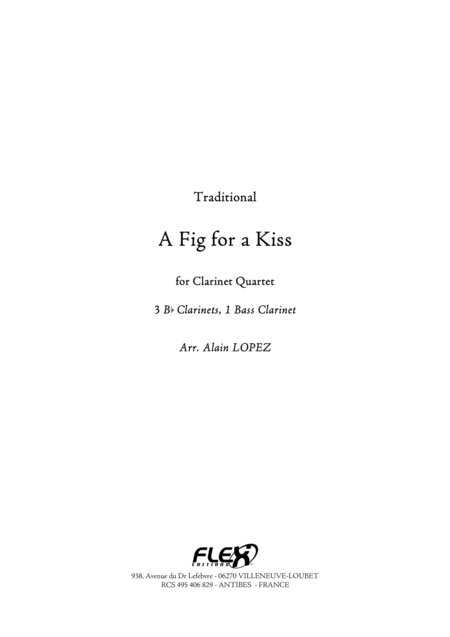 A Fig for a Kiss