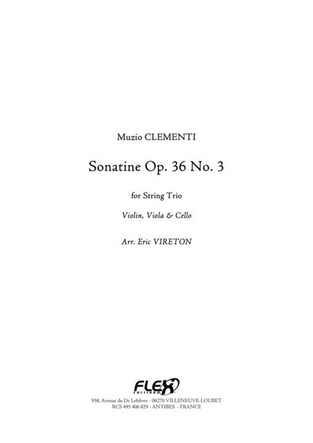 Sonatine Opus 36 No. 3