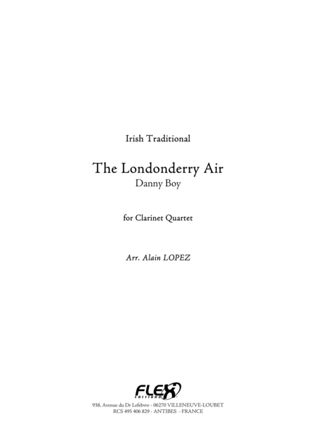 The Londonderry Air
