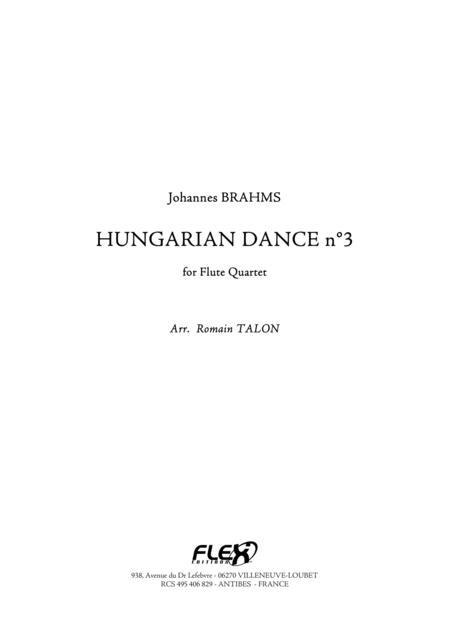 Hungarian Dance, No. 3