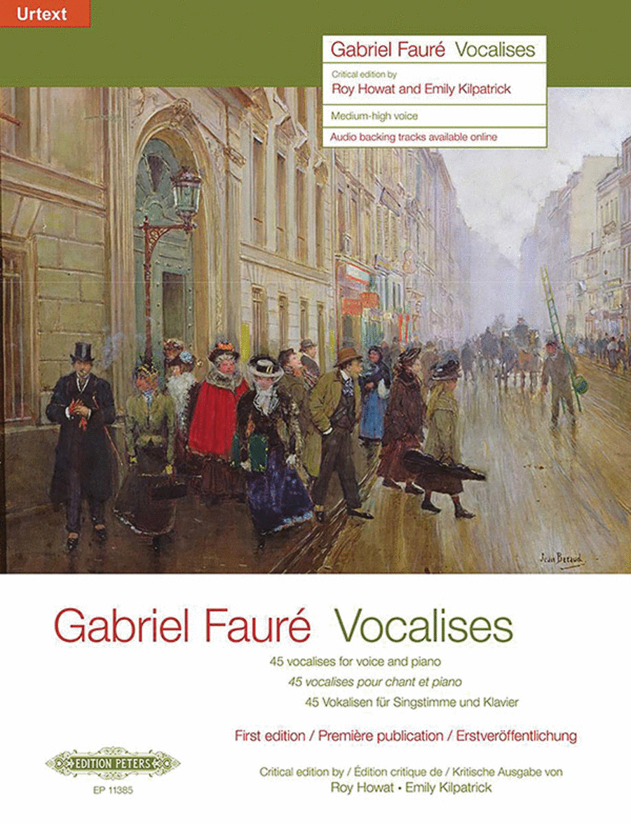 45 Vocalises for Medium-High Voice and Piano