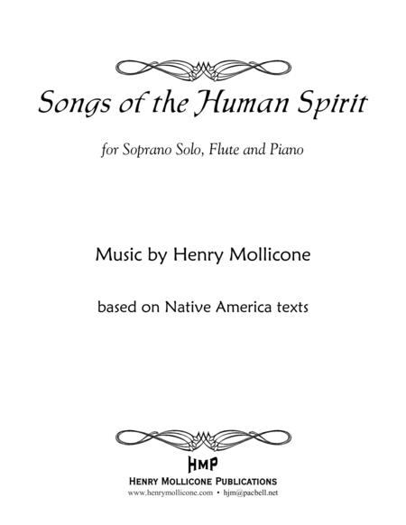 Songs of the Human Spirit (Score)