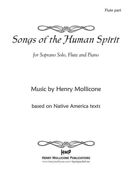 Songs of the Human Spirit (Flute part)