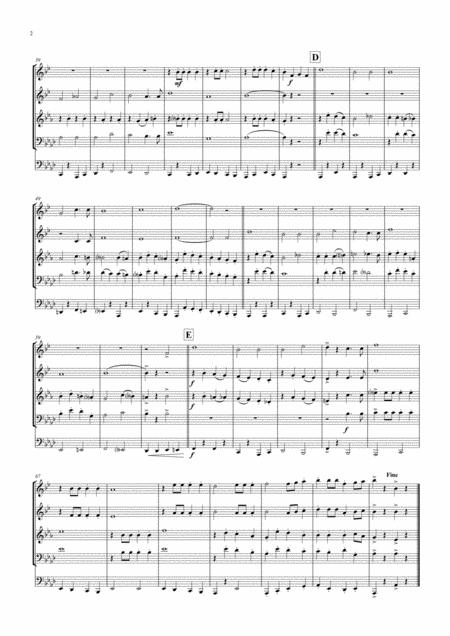 Ein Prosit - German Folk Song - Oktoberfest - Brass Quintet