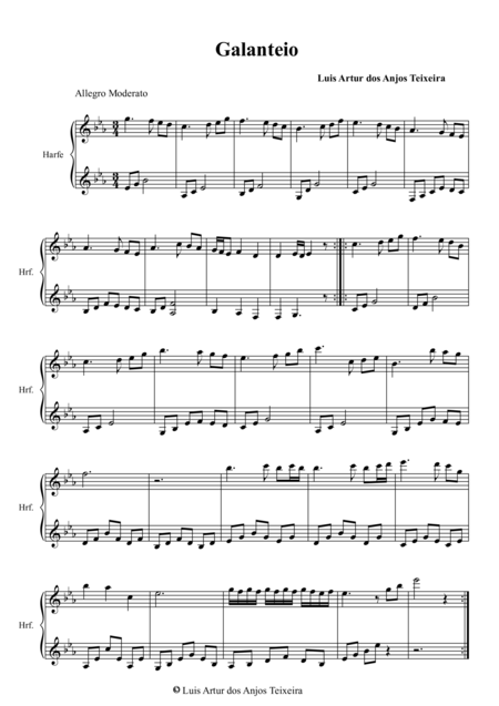 Galanteio  -  For the Celtic Harp