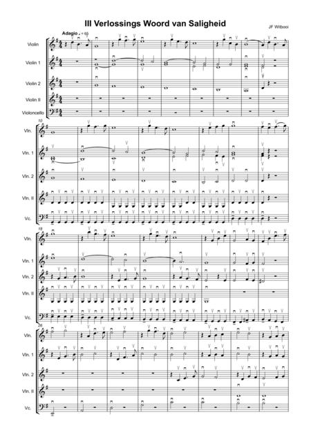 Violin Trio mov II Adagio