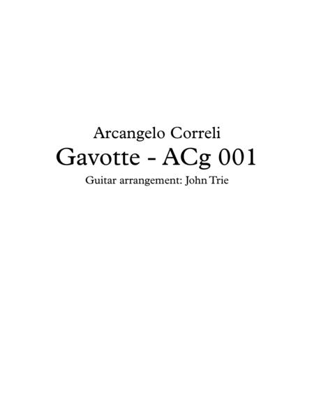 Gavotte - ACg001 tab