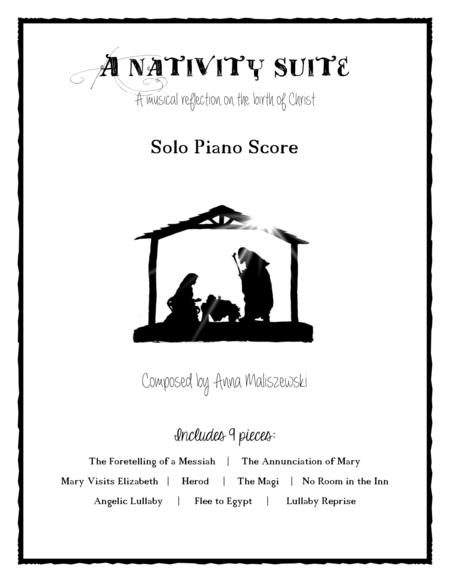 A Nativity Suite: the complete solo piano score