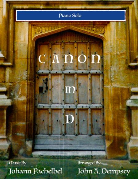 Canon in D (Piano Solo)