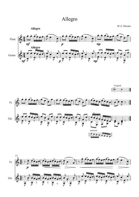 Allegro from KV33