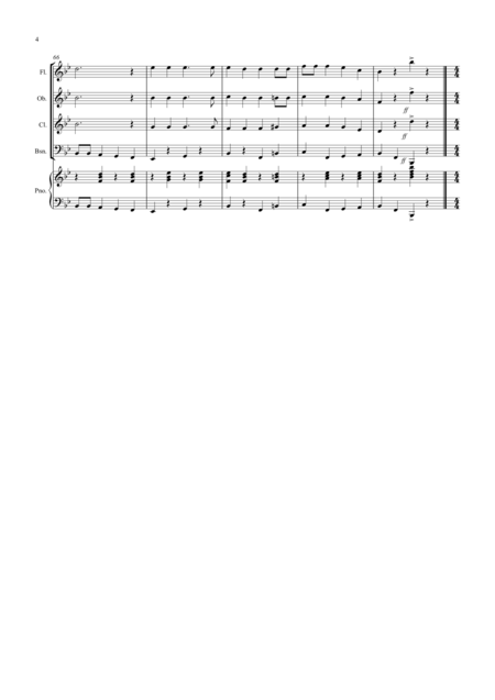 3 Jazzy Christmas Pieces for Wind Quartet