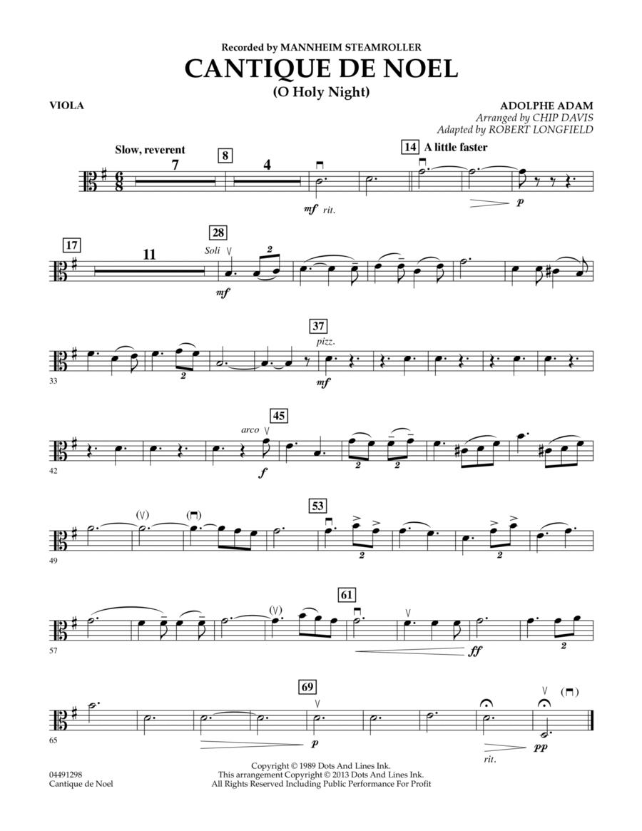 Cantique de Noel (O Holy Night) - Viola
