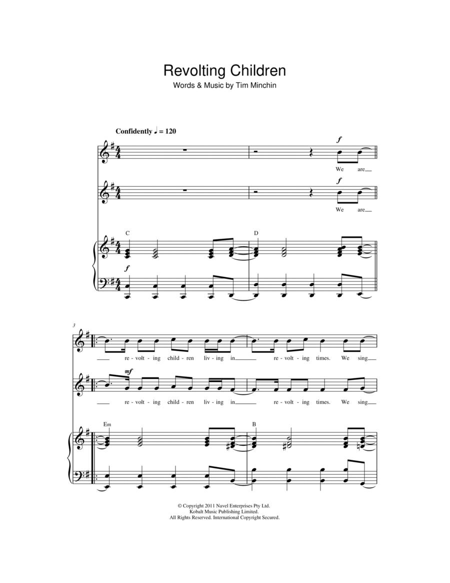 Revolting Children ('From Matilda The Musical')