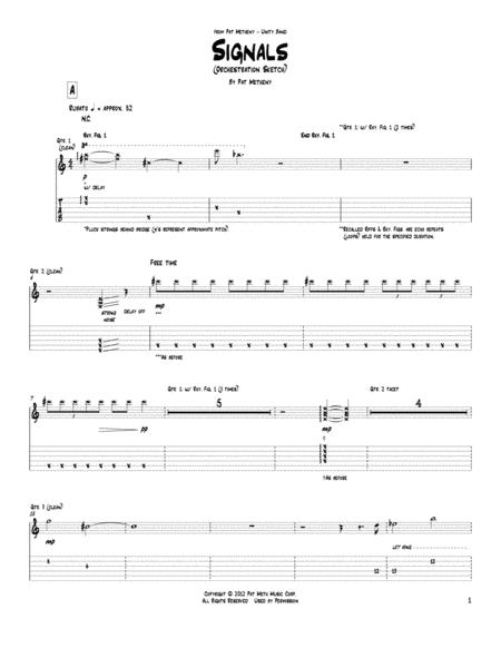 Signals (Orchestrion Sketch)