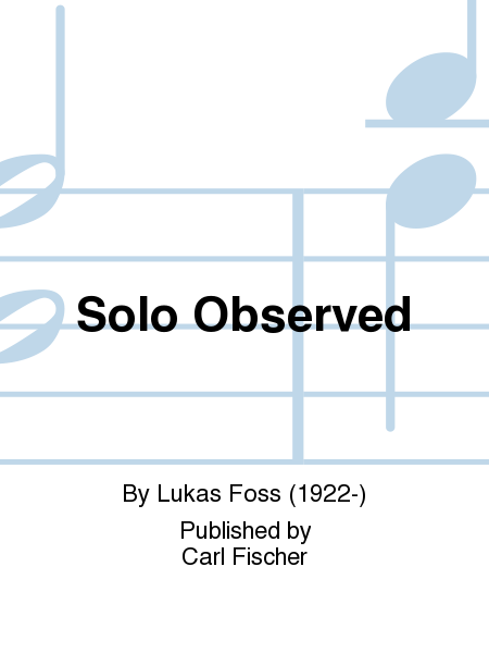 Solo Observed