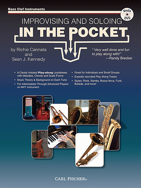 Improvising and Soloing in the Pocket - A Play-along Workbook Designed to Improve Your Improv