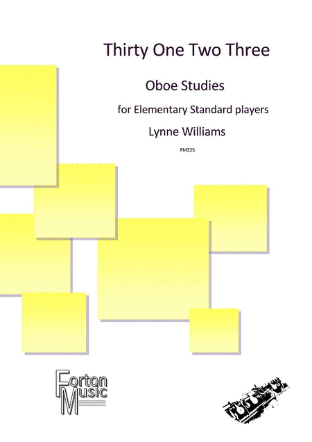 Thirty One Two Three Oboe Studies
