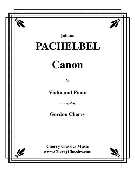 Canon for Violin and Piano