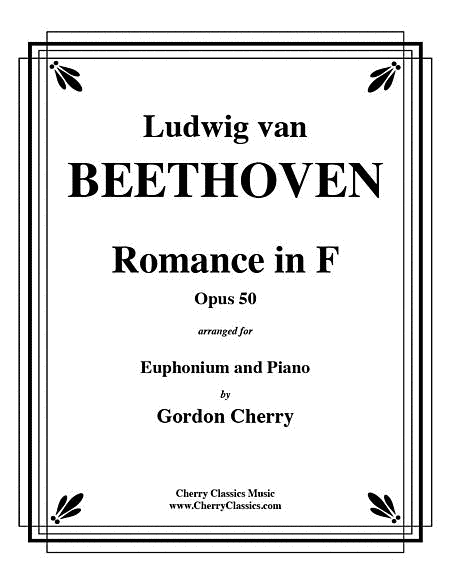 Romance No. 2 in F Opus 50 for Euphonium & Piano