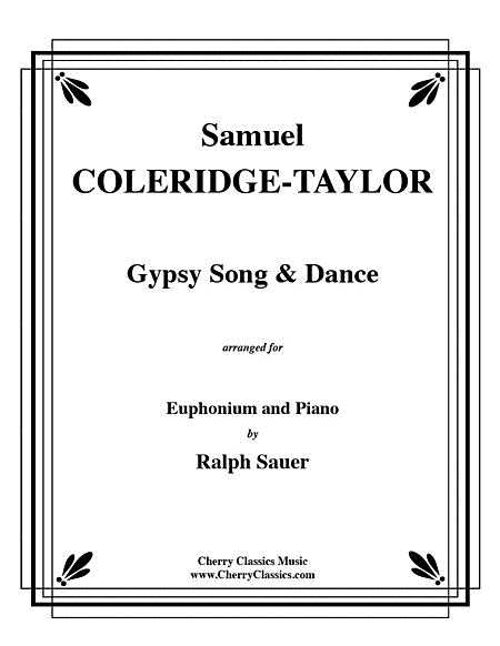 Gypsy Song and Dance for Euphonium and Piano