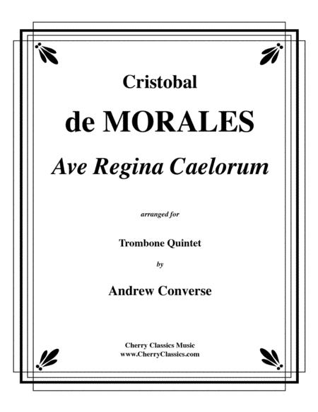 Ave Regina Caelorum for Trombone Quintet