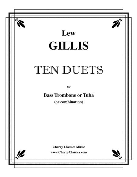 Ten Duets for Bass Trombone or Tuba