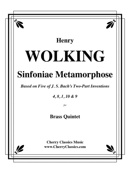 Sinfoniae Metamorphose for Brass Quintet