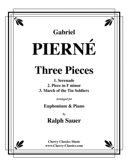 Three Pieces for Euphonium and Piano