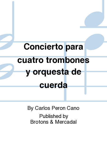 Concierto para cuatro trombones y orquesta de cuerda