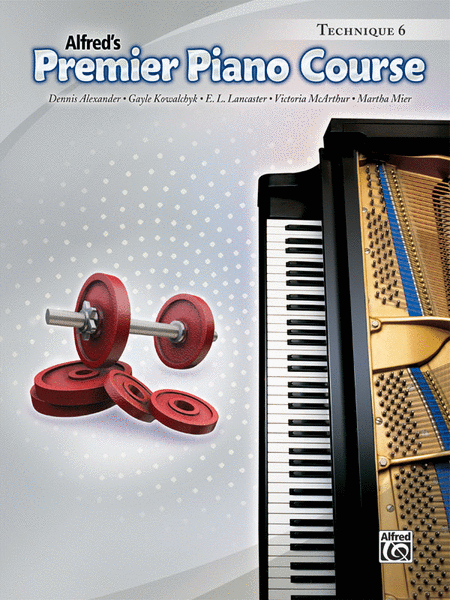 Premier Piano Course Technique, Book 6