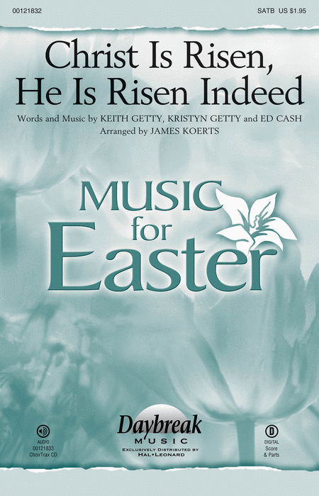 Christ Is Risen, He Is Risen Indeed - ChoirTrax CD