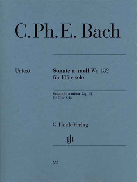 Flute Sonata A minor Wq 132