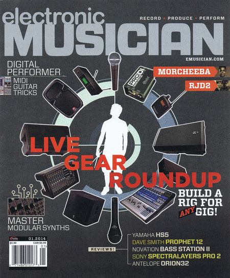 Electronic Musician Magazine January 2014