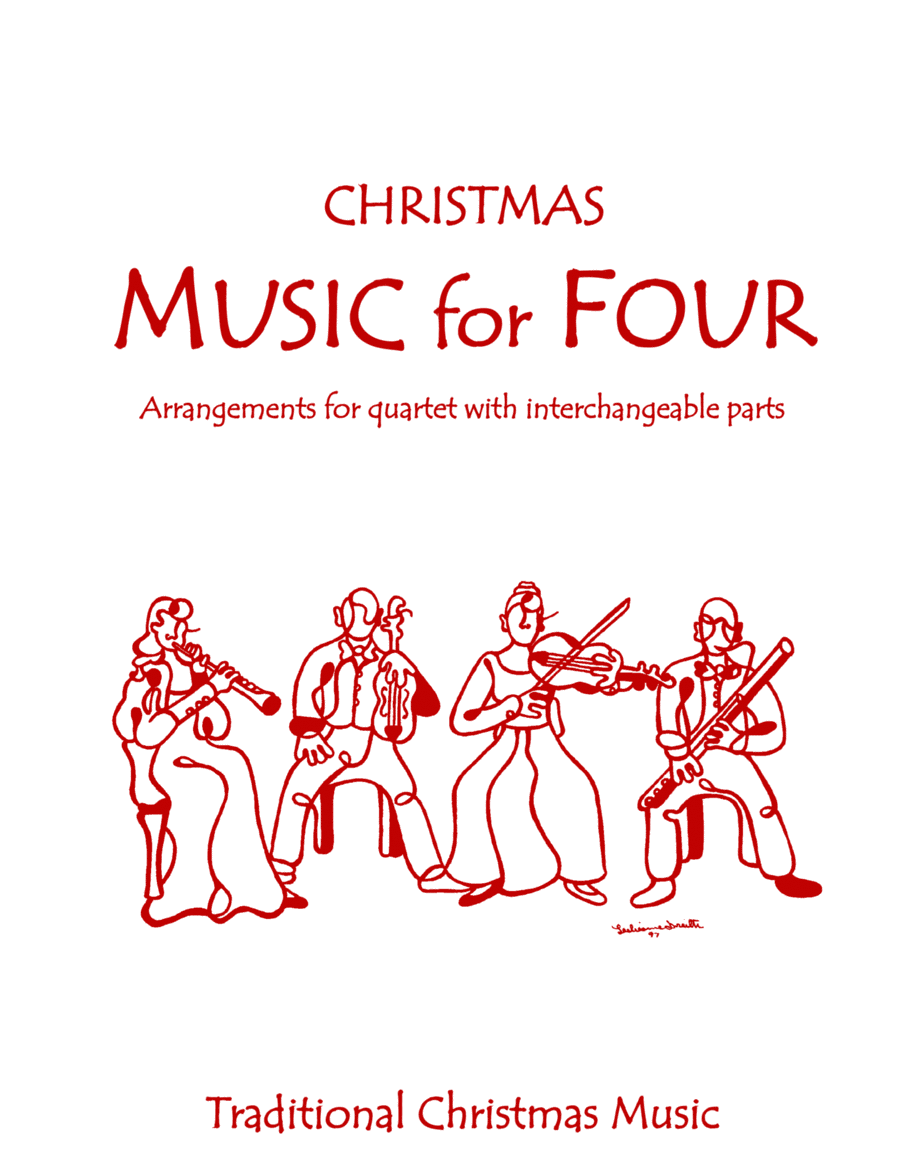 Music for Four, Traditional Christmas Favorites, Score