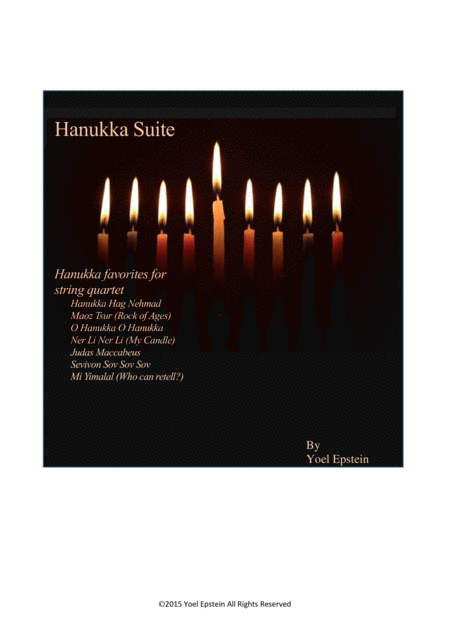 Hanukkah Suite for String Quartet