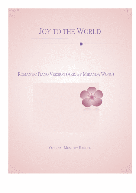 Joy to the World - Romantic Piano Version