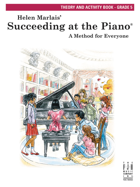 Succeeding at the Piano: Theory and Activity Book, Grade 5
