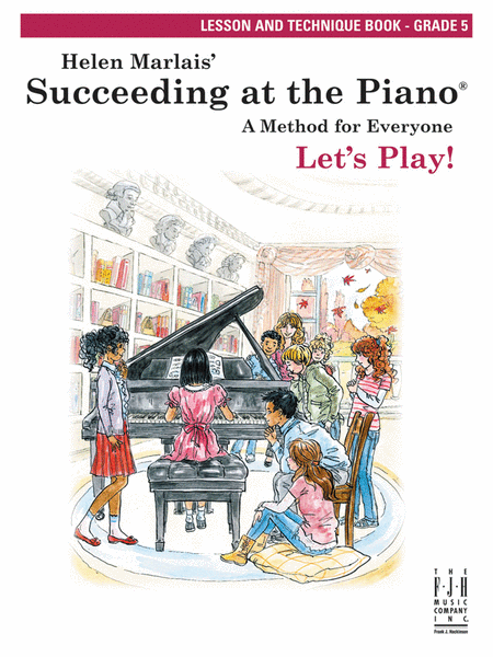 Succeeding at the Piano Lesson & Technique, Grade 5 (w/o CD)