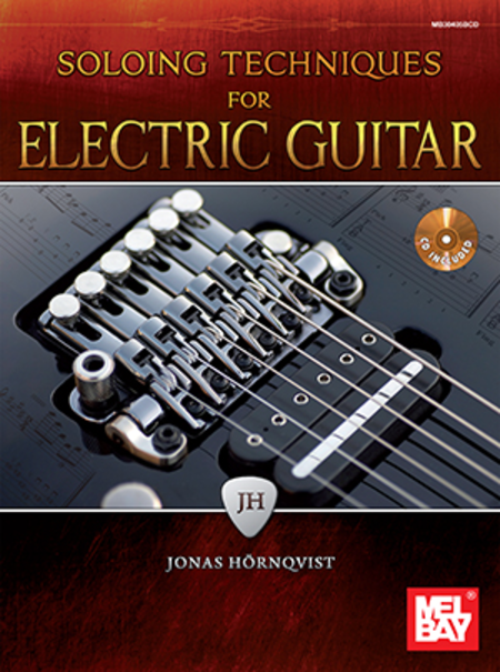 soloing techniques for electric guitar sheet music by jonas hornqvist sheet music plus. Black Bedroom Furniture Sets. Home Design Ideas