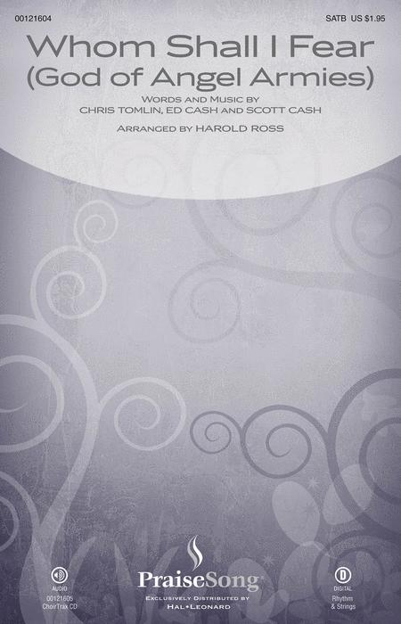 Whom Shall I Fear (God of Angel Armies) - ChoirTrax CD