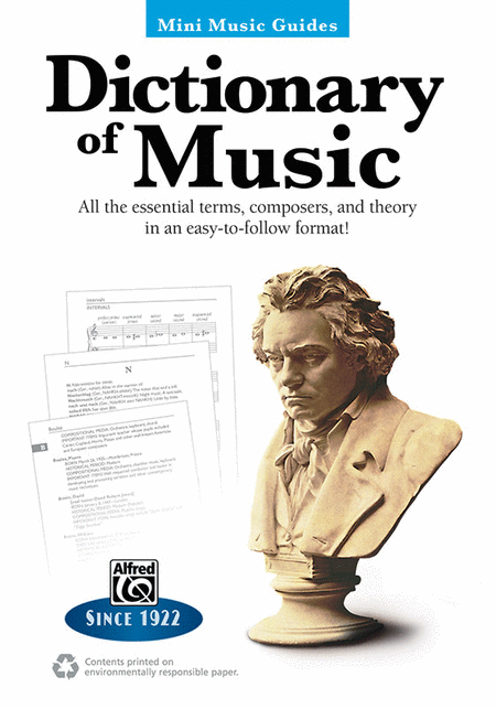 Mini Music Guides -- Dictionary of Music