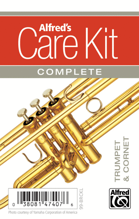 Alfred's Care Kit Complete: Trumpet & Cornet (Gold)