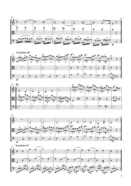 12 Variations in C major KV265(300e) on the theme of