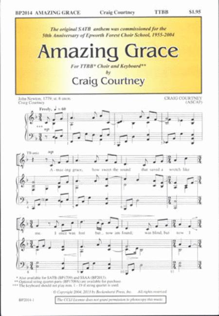 Amazing Grace (TTBB)