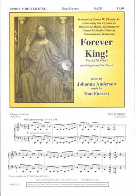 Forever King! (SATB)