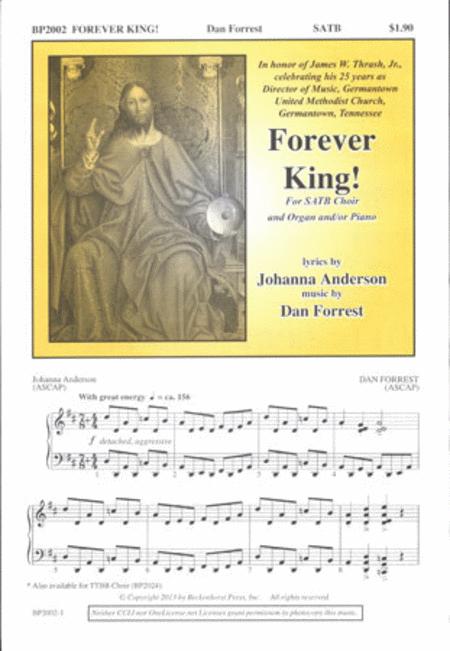 Forever King! (SATB)