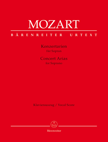 Concert Arias for Soprano