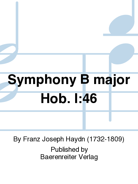 Symphony B major Hob. I:46