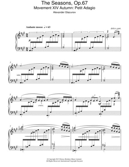 The Seasons Op.67