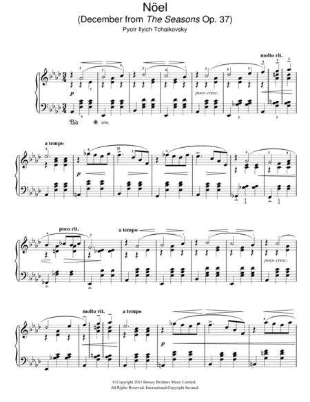Noel (December from 'The Seasons' Op. 37)